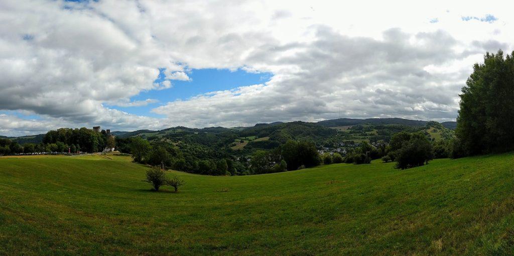 Blick über die Eifel bei Pelm Gerolstein